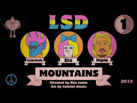 LSD - Mountains Ft. Sia Labrinth & Diplo (Music Video) Teaser
