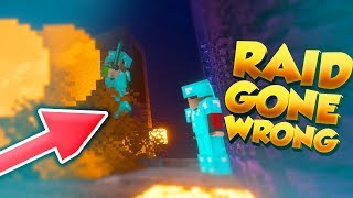 RAIDING THE EQUILITY FACTION!! *GONE WRONG* (Minecraft Factions) [21]