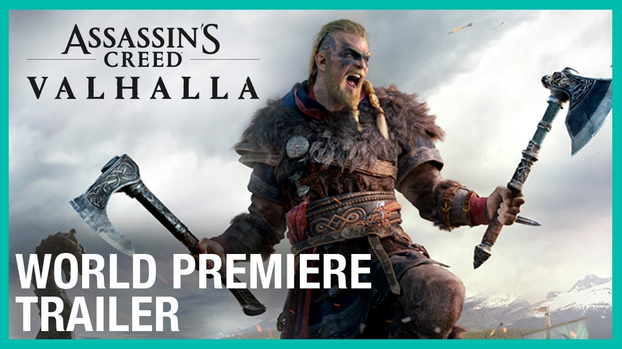Assassin's Creed Valhalla Officially Unveiled, Coming Holiday 2020