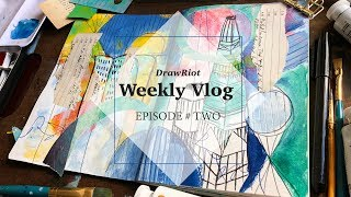 DrawRiot Vlog Episode #2