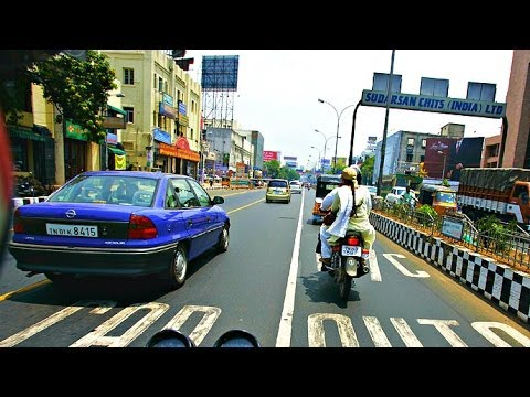 Driving Around Chennai City, India - 2014 HD Mp3