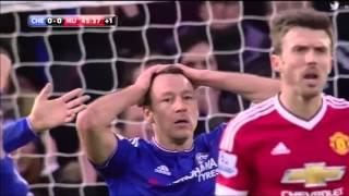 Cuplikan Gol Chelsea Vs Manchester United 11 07022016
