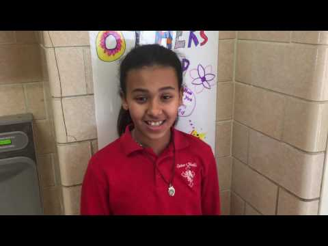 What do Summer and Ana believe is unique about their learning at Saint Mark's School? Hear here!