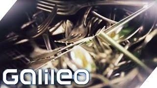 Fakten zur Besteck-Produktion   Galileo   ProSieben