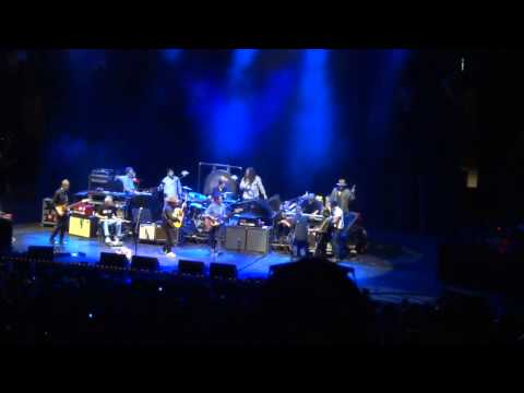 Wilco, Jackson Browne, Richard Bowden on fiddle, Camden