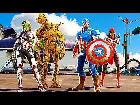 Marvel Strike Force Reveal Trailer
