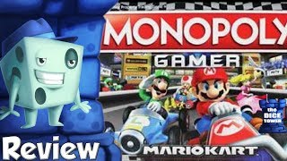 Monopoly Gamer Mario Kart Review - with Tom Vasel
