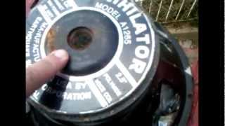 how to remove a speaker magnet for scrap