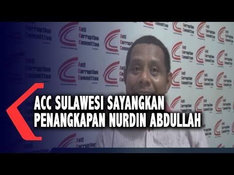 Acc Sulawesi Sayangkan Penangkapan Nurdin Abdullah