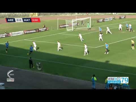 Arezzo-Matelica 2-0, la sintesi della partita
