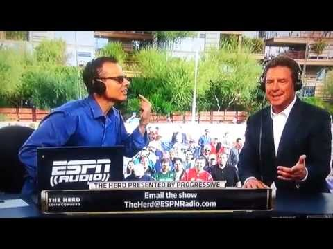 Colin Cowherd Interviews Dan Marino at Super Bowl XLIX