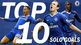 TOP 10: Solo Strikes For Chelsea | Chelsea Tops