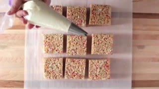 RECIPE! Birthday Cake Rice Crispie Treats