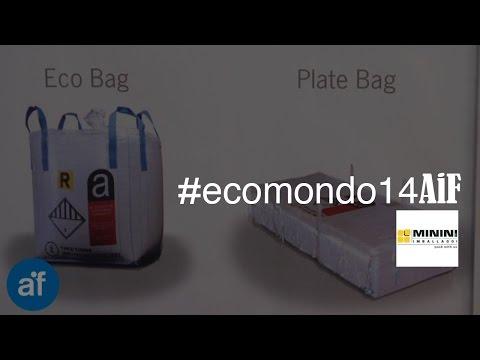 Big Bag per l'imballaggio e il trasporto dei rifiuti