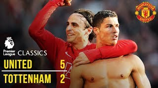 Manchester United 5-2 Tottenham Hotspur (08/09)   Premier League Classics   Manchester United