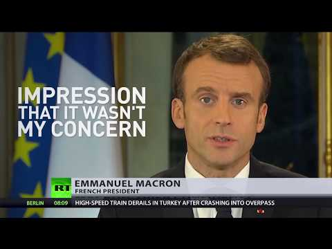 Western stability shattered? Macron facing no confidence vote, Yellow Vest protest in Canada