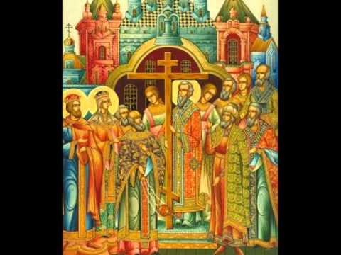 Акафист Воздвижению Честного Креста Господня.  Мужской хор под управлением Александра Бордака