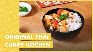 How to: Original Thai Curry kochen – fast vegetarisch | Reishunger kocht