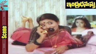 Rajashekar, Jeevitha Funny Love Scene || Indradhanussu Movie || Rajashekar || MovieTimeCinema