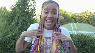 Rap Star Sho Madjozi Invites Us To Her Her Braids Done | Top Billing