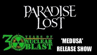 PARADISE LOST - Medusa Release Show (OFFICIAL TRAILER)