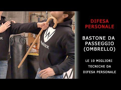 Bastone da passeggio / ombrello - le 10 migliori tecniche di difesa personale