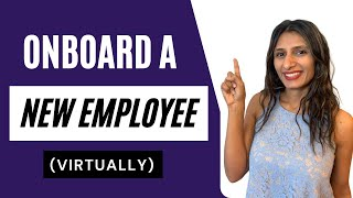 HOW TO CREATE A TRAINING PROGRAM FOR NEW EMPLOYEES   Onboarding New employees Virtually