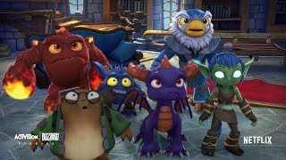 Hex Is Back In Skylanders Academy