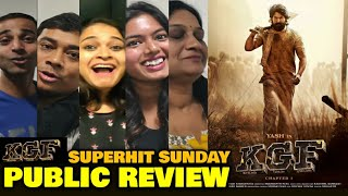 Kgf Chapter 1 Full Movie Hindi Dubbed Delhi Public Review Reaction