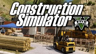 GTA 5 : CONSTRUCTION SIMULATOR