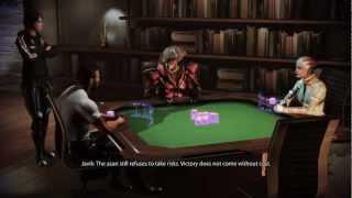 Mass Effect 3 - Let's Play Poker! (Citadel DLC)