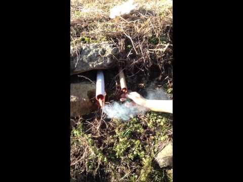 Miniciccioli doppio colpo in tubi di cartone