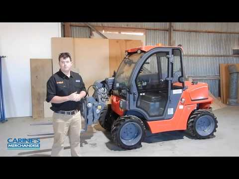 Everun ERT1500 telehandler – designed to help you lift