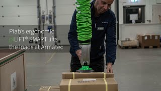 piLIFT®SMART lifts the loads at Armatec