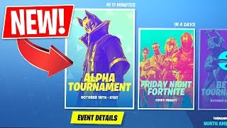 *NEW* Fortnite In-Game Tournaments! 1st Tournament RIGHT NOW!! (Fortnite LIVE Gameplay)