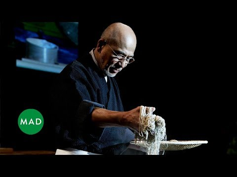 Soba Master Tatsuru Rai Demonstrates His Craft