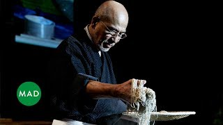 Soba Master Tatsuru Rai demonstrates his craft at MAD4 | Kholo.pk