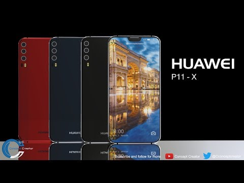 Huawei P11: tripla camera e Notch come iPhone X