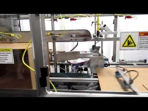 Formadora de cajas Horizonal a una velocidad de 24 CPM