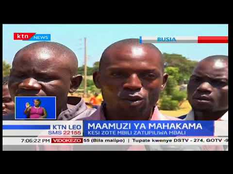 Sherehe za Ushindi:Wakaazi katika maeneo tofauti washerekea maamuzi ya mahakama