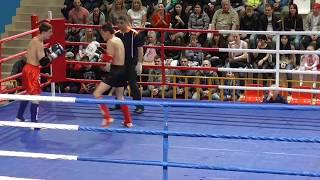 PRO-AM Турнир Россия vs Киргизия, 2 бой, 2 раунд