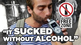 NO ALCOHOL for a month with an UNEXPECTED OUTCOME