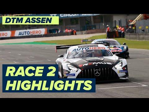 DTM TTサーキット・アッセン(オランダ) レース2のハイライト動画