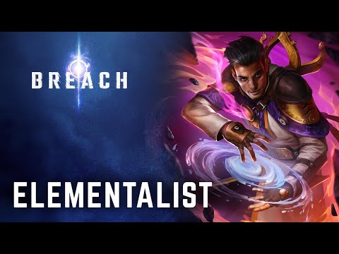 Breach - Elementalist Class Preview & Gameplay Trailer