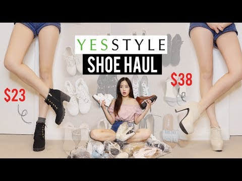 YESSTYLE SHOE HAUL Try-on! Was it worth it?
