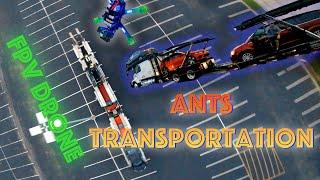 ANTS TRANSPORTATION -- Stephan's Epic Haul Truck -- FPV Drone