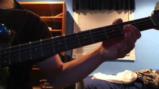 311 - Crack the code bass cover