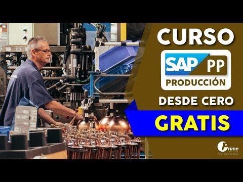 SAP PP - curso Sap producción