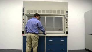 6′ Fisher Hamilton Safeaire Fume Hood w/ Base Cabinets