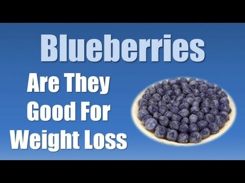 Video Best Foods for Weight Loss - Blueberries for Weight Loss